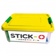 Stick-O Scholenbox 56 in 1 - Geel
