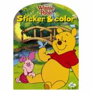 Disney Sticker & Color - Winnie de Poeh