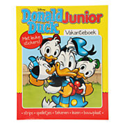 Donald Duck Junior Vakantieboek met Stickers