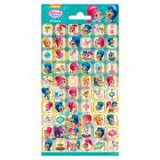 Stickervel Shimmer & Shine