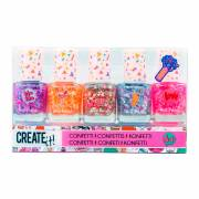 Create It! Nagellak Confetti, 5st.