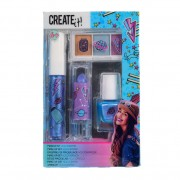 Create It! Make-up Set Holografisch, 4dlg