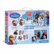 Clementoni Edukit Disney Frozen, 4in1