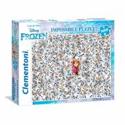 Clementoni Impossible Puzzel Disney Frozen, 1000st.
