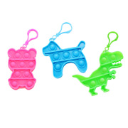 Fidget Bubble Pop It Sleutelhanger Dierfiguur