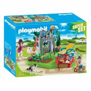 Playmobil 70010 Superset Familietuin