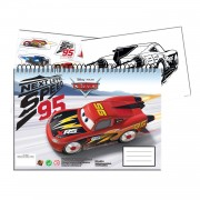 Cars 3 Schetsboek A4 met Stickers