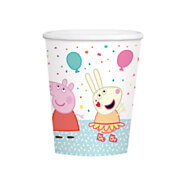 Peppa Pig Bekers, 8st.