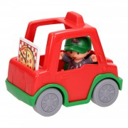 Fisher Price Little People - Pizza Bezorger
