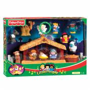 Fisher Price Little People Kerststal