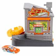 Hot Wheels Pizzeria in de Stad