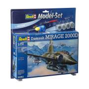 Revell Model Set Mirage 2000D Vliegtuig