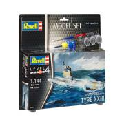 Revell Model Set German Submarine XXII