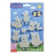 Peppa Pig Glow in the Dark Set, 20dlg.