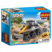 COGO - Army Peacekeeper - Tank, 3in1