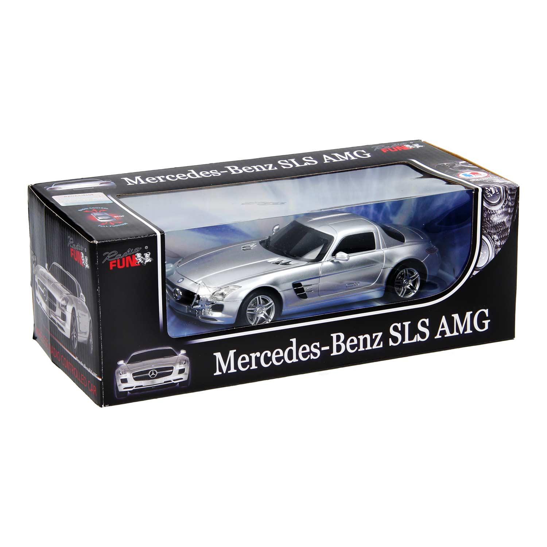 Rc mercedes benz sls amg zilver thimble toys for Rc mercedes benz