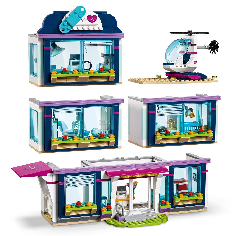 LEGO Friends 41318 Heartlake Ziekenhuis   Thimble Toys