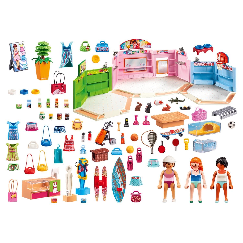 Playmobil 9078 shopping arcade | Thimble Toys