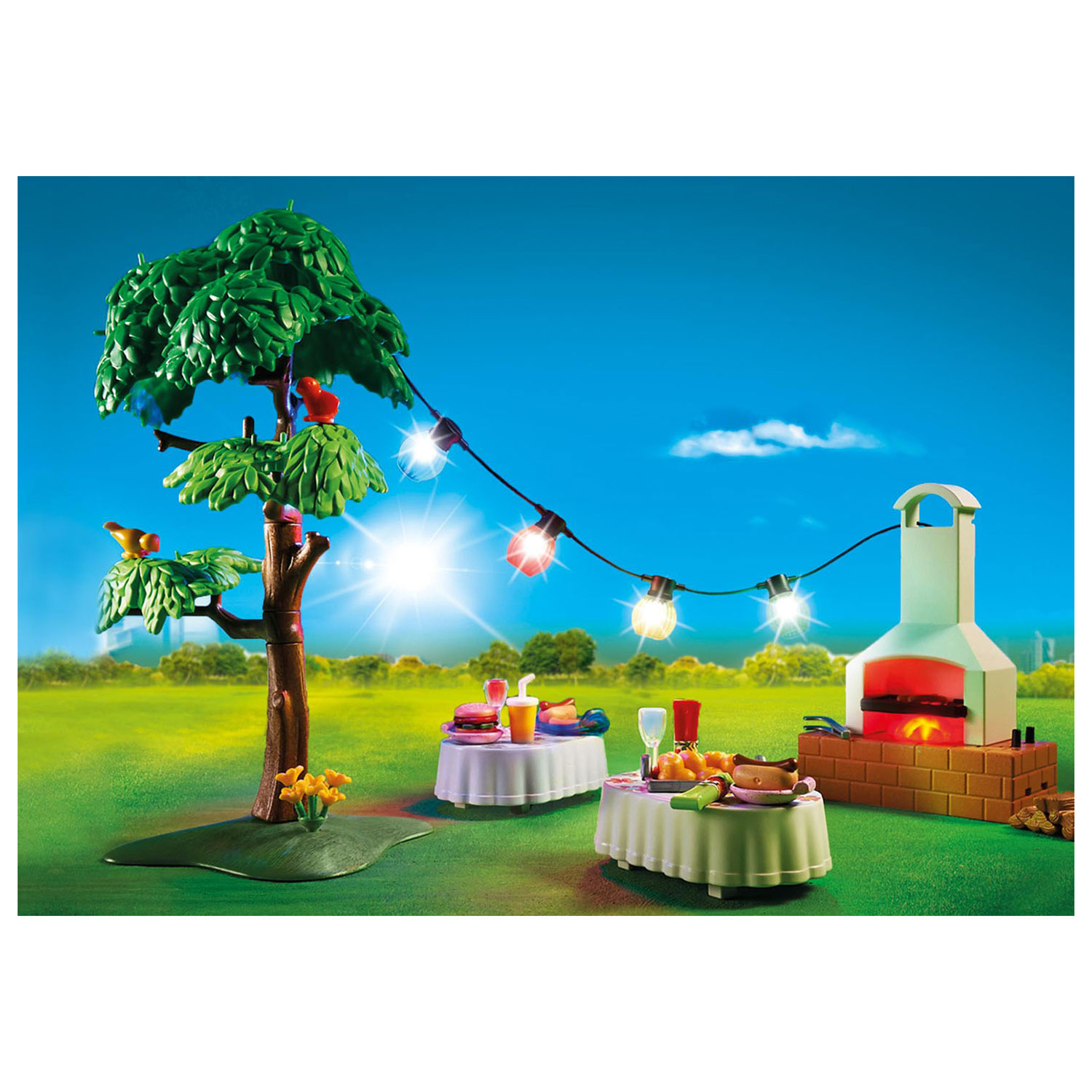 PLAYMOBIL City Life: Family celebration with barbecue (9272