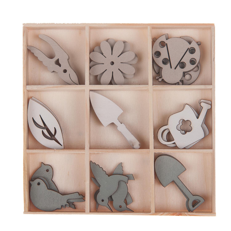 Houten decoratie 27st thimble toys for Houten decoratie