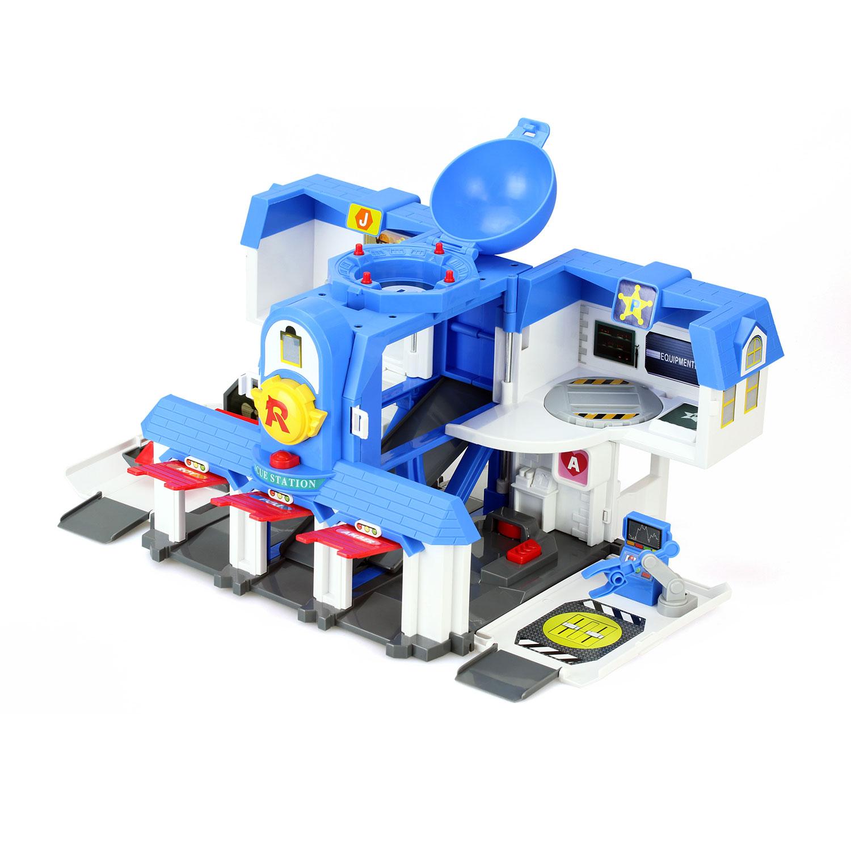 robocar poli transformable hoofdkwartier thimble toys. Black Bedroom Furniture Sets. Home Design Ideas