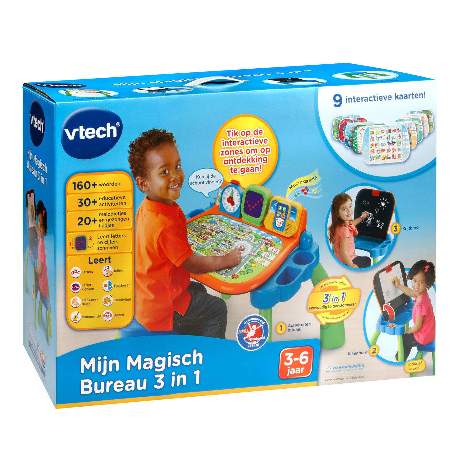vtech my magical desk 3 in 1 thimble toys. Black Bedroom Furniture Sets. Home Design Ideas